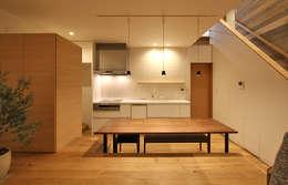福田康紀建築計画의  다이닝 룸