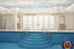 مسبح تنفيذ Luxury Antonovich Design