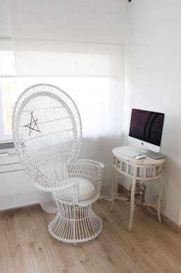 Projekty,  Sypialnia zaprojektowane przez alma portuguesa