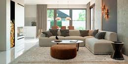 Projekt domu HomeKONCEPT 46: styl , w kategorii  zaprojektowany przez HomeKONCEPT | Projekty Domów Nowoczesnych