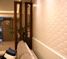 Salas de estilo clásico por Grama Arquitetura