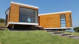 CASA JOYCO CURACAVÍ: Casas de estilo mediterraneo por Arc Arquitectura