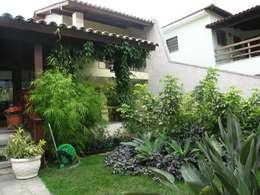 Jardines de estilo moderno por Maria Dulce arquitetura