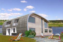 Проект реконструкции дома на Волге: Дома в . Автор – Архитектурное бюро Лены Гординой