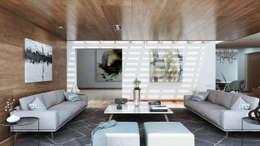 B-01: Salas de estilo moderno por LG STUDIO