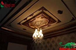 DEKOROS – Saray Tavan Göbek ve Dekorasyon Profilleri:  tarz Ev İçi