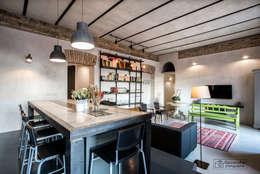 Cocinas de estilo industrial por Giacomo Foti Photographer