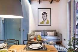 Salas de estilo mediterráneo por Egue y Seta