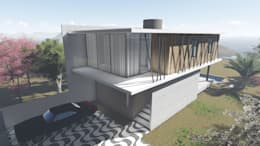 Casas de estilo moderno por Tangram Engenharia Construtiva