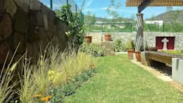 Giardino in stile in stile Moderno di SCH2laap arquitectura + paisajismo
