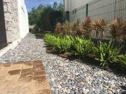 modern Garden by SCH2laap arquitectura + paisajismo