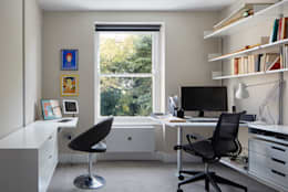 modern Study/office by Andrew Mulroy Architects