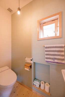 浴室 by HAPTIC HOUSE