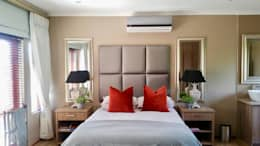 Projekty,  Sypialnia zaprojektowane przez Carne Interiors