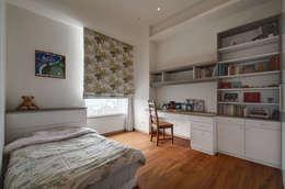Projekty,  Sypialnia zaprojektowane przez 芸采創意空間設計-YCID Interior Design