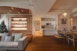 Projekty,  Kuchnia zaprojektowane przez 芸采創意空間設計-YCID Interior Design