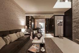 Projekty,  Salon zaprojektowane przez 芸采創意空間設計-YCID Interior Design