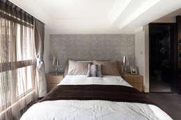 仰‧初相:  臥室 by 芸采創意空間設計-YCID Interior Design