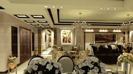 classic Living room by EHAF Consulting Engineers