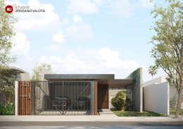 Casas de estilo  por STUDIO JORDANO VALOTA