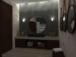Baños de estilo moderno por Residenza by Diego Bibbiani