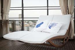 Terrazas de estilo  por Rafael Grantham Arquitetura