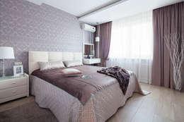 غرفة نوم تنفيذ Pegasova design