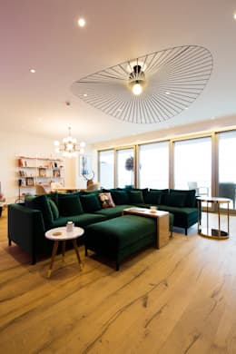 modern Living room by MERVE KAHRAMAN PRODUCTS & INTERIORS