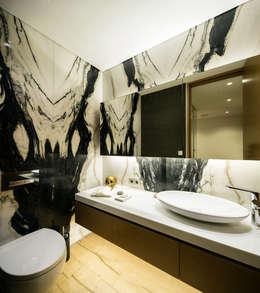 modern Bathroom by MERVE KAHRAMAN PRODUCTS & INTERIORS