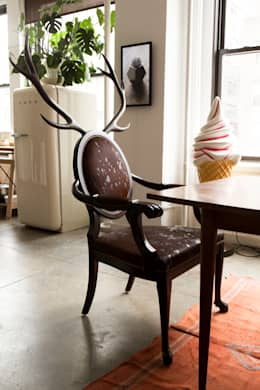 eclectic Dining room by MERVE KAHRAMAN PRODUCTS & INTERIORS