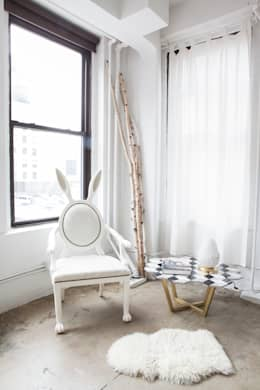 eclectic Bedroom by MERVE KAHRAMAN PRODUCTS & INTERIORS
