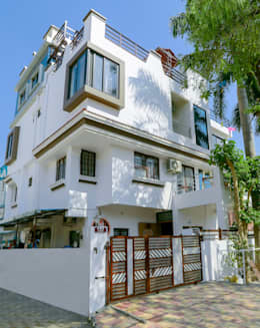 Shah Parivar Bungalow: modern Houses by ZEAL Arch Designs