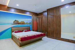 Shah Parivar Bungalow: modern Bedroom by ZEAL Arch Designs