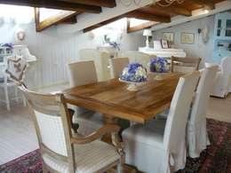 Salas de jantar clássicas por Francesca Maria surace