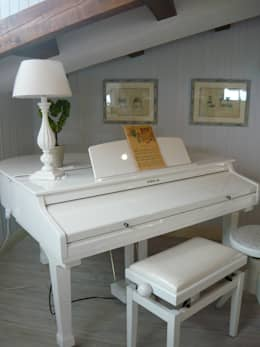 Salas de estar clássicas por Francesca Maria surace