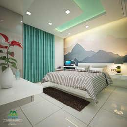 Eye Catching...: classic Bedroom by Premdas Krishna