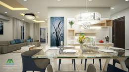 Eye Catching...: classic Dining room by Premdas Krishna