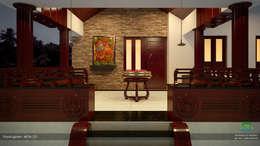 Timeless Beauty...: classic Living room by Premdas Krishna
