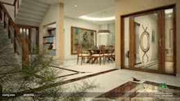 Awesome Attire: classic Dining room by Premdas Krishna