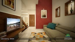 Awesome Attire: classic Living room by Premdas Krishna