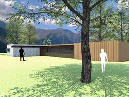 CASA MISLE: Casas de estilo moderno por Arc Arquitectura
