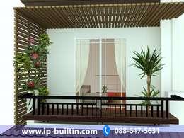 ตกแต่งภายใน  บ้าน มัณฑณา ระเบียง ชั้นบน:   by IP BUILT IN