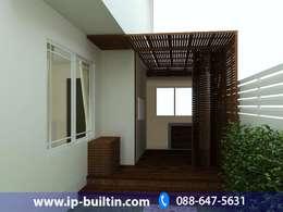 ตกแต่งภายใน  บ้าน มัณฑณา หลังบ้าน:   by IP BUILT IN