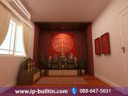 ตกแต่งภายใน  บ้าน มัณฑณา ห้องพระ:   by IP BUILT IN