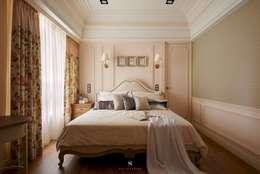 غرفة نوم تنفيذ 理絲室內設計有限公司 Ris Interior Design Co., Ltd.