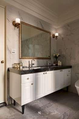 حمام تنفيذ 理絲室內設計有限公司 Ris Interior Design Co., Ltd.
