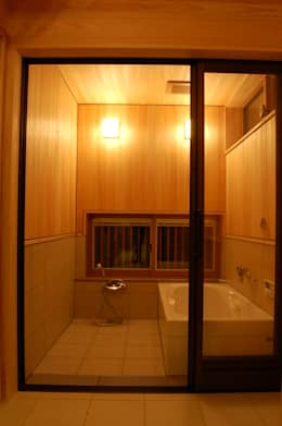 浴室 by 田村建築設計工房