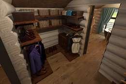 rustic Dressing room by atmosvera