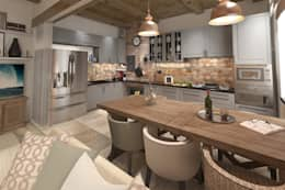 eclectic Kitchen by atmosvera