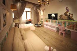 eclectic Nursery/kid's room by atmosvera